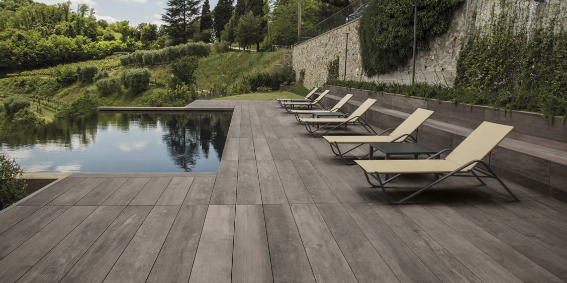 Swimming Pool Tiles And Flooring Floor Coverings In Porcelain Stoneware