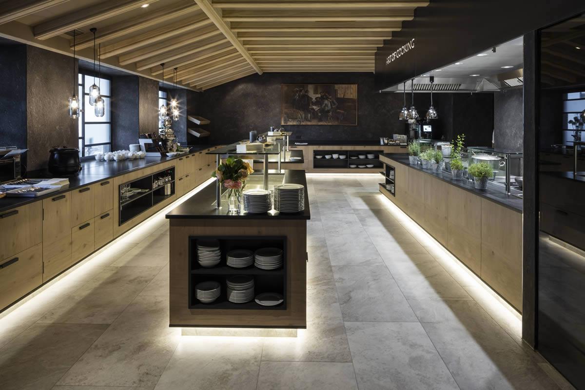 Gres Porcellanato Piastrelle Cucina hotels & spas - kronos ceramiche - floor coverings in