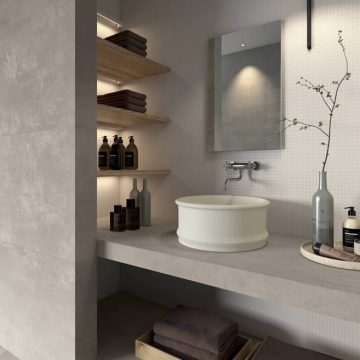 porcelain stoneware bathroom