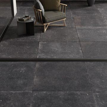 balcony stone look floor tiles