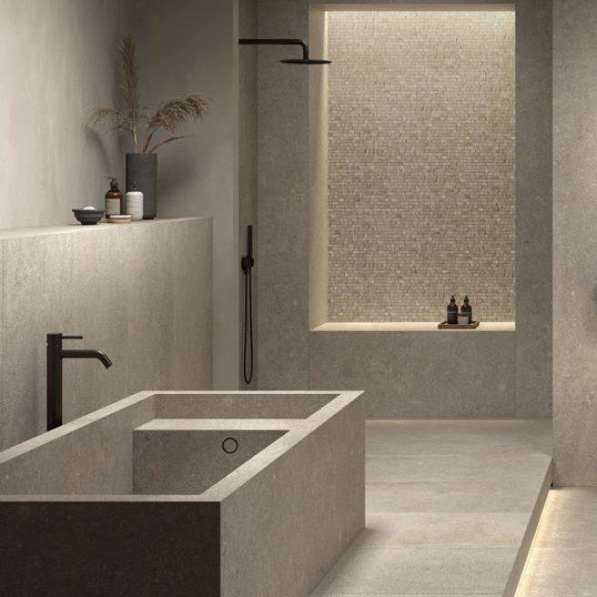 bespoke bath stone look