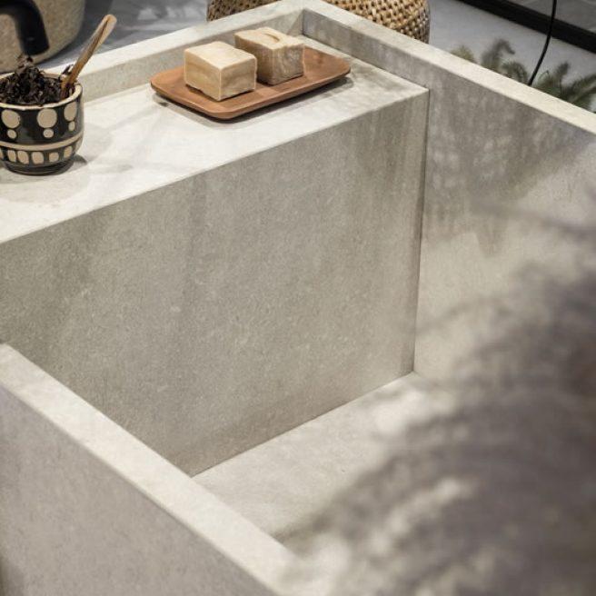 custom bathtub porcelain tiles