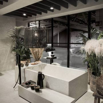 porcelain stoneware tiles bathroom